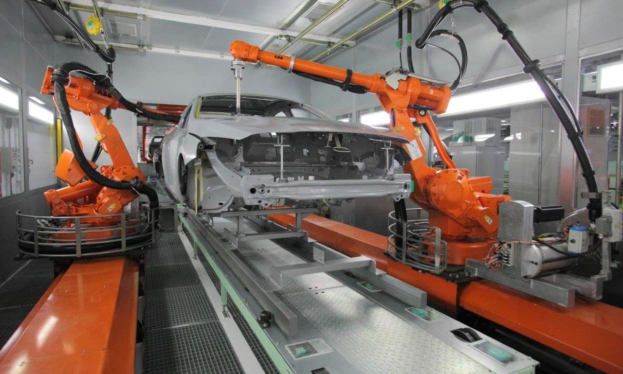 谐波减速机应用于喷涂机器人