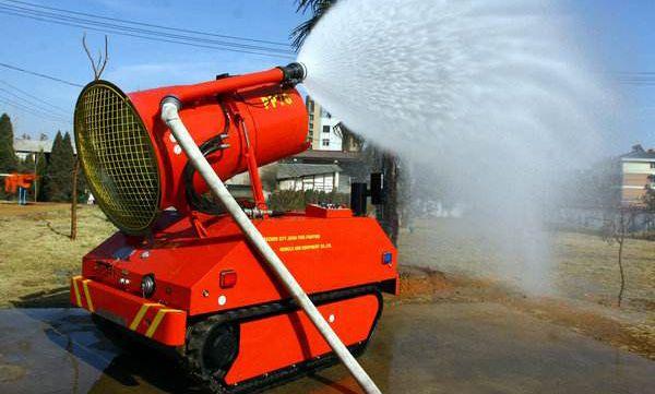 帝人减速机应用于消防机器人
