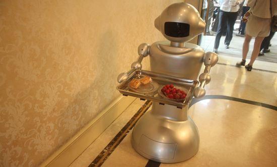 谐波减速器应用于服务机器人上