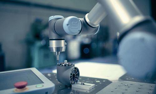 谐波减速机应用于协作机器人上