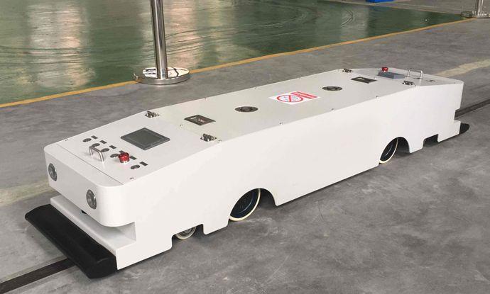 谐波减速器应用于AGV小车上
