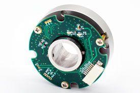 穿轴磁电绝对编码器一体式 EAB42