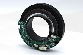 穿轴磁电绝对编码器一体式 EAB79